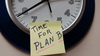 time for plan B to do lijstje